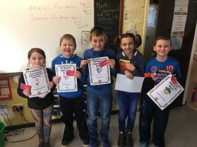 Primary 5 Awards - Week 12