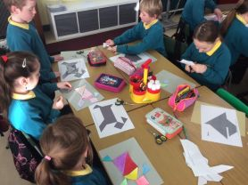 Tangrams and Tesselating Shapes