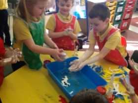 St. Patrick's Day Art & Messy Play