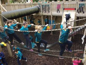 P3 School Trip to Fort Evergreen