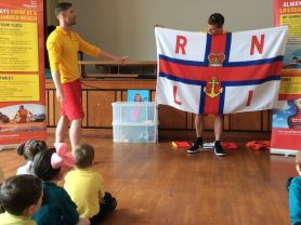RNLI visit our school