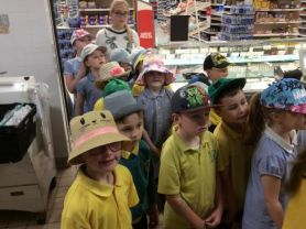P3 TRIP TO SAINSBURY'S BAKERY & SLIEVE GULLION